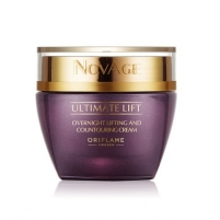 Veido kremas Oriflame Night Lifting Cream Ultimate Lift Novagen (Overnight Lifting And Countouring Cream) 50 ml