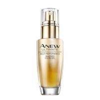 Veido serumas Avon Silk Rejuvenating Serum With Anew Ultimate (Multi- Performance Silk ened Oil-In-Gel) 30 ml