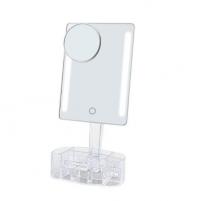 Veidrodis Deveroux Cosmetic LED Mirror Rechargeable DC120 Kitos burnos higienos prekės, komplektai