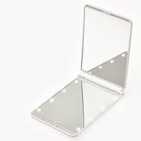 Veidrodis Deveroux Cosmetic Pocket LED White Mirror MR-L210 Kitos burnos higienos prekės, komplektai