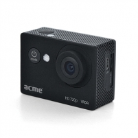 Veiksmo kamera Acme VR04 Compact HD sports and action camera Black, Built-in speaker(s), Built-in display, Built-in microphone, Vaizdo kameros