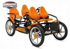 Velomobilis 4 vietų Berg Gran Tour Racer F (iki 350kg) Cars for kids