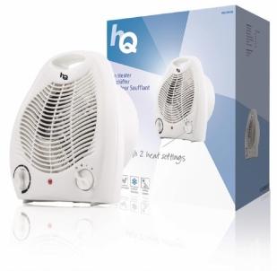 Ventiliatorinis šildytuvas 1000 & 2000 W White Šildytuvai ventiliatoriniai
