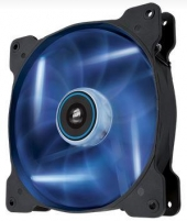 Ventiliatorius Corsair PC case fan AF140 Quiet Edition LED Blue,140mm, 3pin,1200 RPM, 25.5 dBA