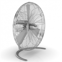 Ventiliatorius Stadler form CHARLY C050E Floor Fan, Number of speeds 3, 60 W, Oscillation, Diameter 45 cm, Stainless steel Ventilatori