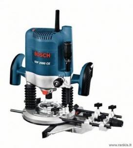 Vertikalaus frezavimo mašina Bosch GOF 2000 CE Professional