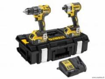 DEWALT DCK266P2 18V; XR; veržliasukis ir suktuvas - gręžtuvas rinkinys Battery tool kits