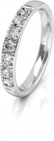 Vestuvinis žiedas Art Diamond balto aukso su cirkoniais AUGDR015 Wedding rings