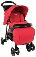 Graco Mirage + (Tomato) Carts for the kids and their accessories
