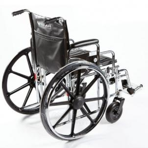 Vežimėlis sunkaisvoriams STEELMAN XL Ratiņkrēslos pieaugušajiem