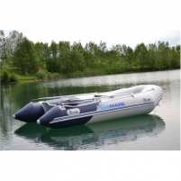 Valtis Viamare 330 Alu, PVC Inflatable Boat with Solid Bottom, 4+1 asmuo(-enys) Valtys