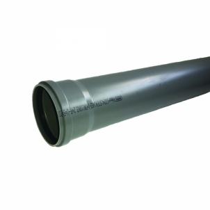 Vidaus kanalizacijos vamzdis WAVIN OPTIMA, d 110, 1500 mm Iekšējie kanalizācijas caurulēm