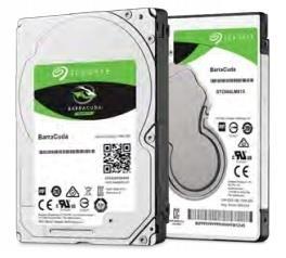 Vidinis diskas Seagate BarraCuda 2.5 1TB SATA3 5400RPM 128MB