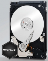 Vidinis diskas WD Black 2.5, 320GB, SATA3, 7200RPM, 32MB