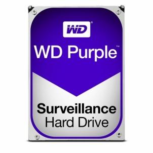 Vidinis kietas diskas Internal HDD WD Purple 3.5 2TB SATA3 64MB