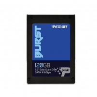 Vidinis kietas diskas Patriot SSD Burst 120GB 2.5 SATA III read/write 560/540 MBps, 3D NAND Flash
