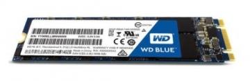 Vidinis kietas diskas WD Blue SSD M.2 SATA 250GB SATA/600, 550/525 MB/s, 3D NAND
