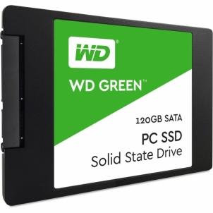 Vidinis kietas diskas WD Green SSD, 2.5, 120GB, SATA/600, 7mm, 3D NAND