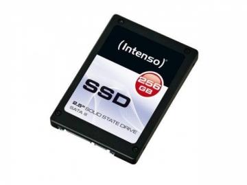 Vidinis kietasis diskas SSD Intenso Top 256GB SATA3, 520/400MBs, Shock resistant, Low power