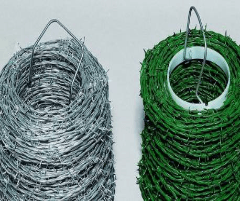 Viela spygliuota dvieilė dažyta The wire ropes, galvanised