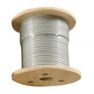 Vielinis lynas dengtas plastiku 3/4 Wire rope coated plastic
