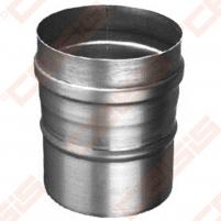 Vienasienė nerūdijančio plieno jungtis sujungti dūmtraukį ir katilą arba židinį JEREMIAS FU32 Dn450 Skursteņi un to sastāvdaļām