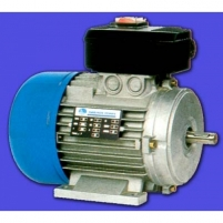 Vienfazis elektros engine 71 0,37 kW/2/B3 230V Single-phase electric motors