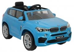 Vienvietis elektromobilis BMW X5M, mėlynas Automašīnas bērniem