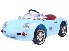 Vienvietis elektromobilis Porsche, mėlynas Automašīnas bērniem