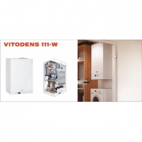 Viessmann Vitodens 111-W (6,5-26kW) su 46l boileriu Dujiniai kondensaciniai katilai