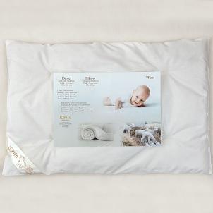 Vilnonė pagalvė kūdikiui, 40x60 cm Pagalvės