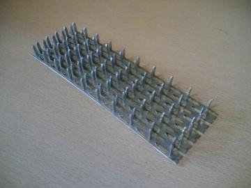 Vinėta plokštelė 180x300x1,3 20 vnt Plokštelės montažui, cinkuotos
