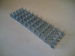 Vinėta plokštelė 48x125x1,3 Montažui plate, cinkots