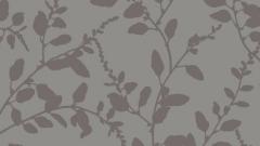345930 OUVERTURE 53 cm tapetai, pilki gėlėti