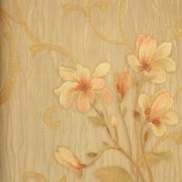 39701 DECORA, rusvi gėlėti, 70 cm tapetai Viniliniai wallpaper-download photo
