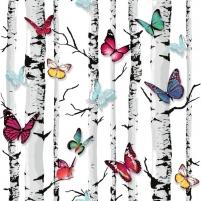 E71820 53 cm tapetai, drugeliai medyje Viniliniai wallpaper-download photo