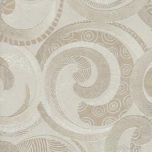 Viniliniai tapetai Ugepa S.A. F842-08 53 cm, šviesiai rusvi su ornamentais Viniliniai tapetai
