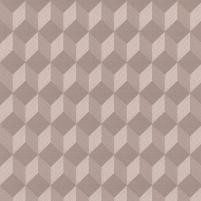 J437-07 53 cm wallpaper, brown with rombais Vinyl wallpaper