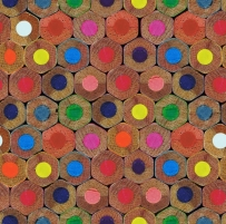 J50508 53 cm tapetai, spalvotų pieštukų