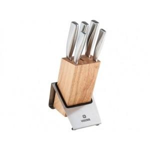 VINZER virtuvės peilių rinkinys ROCK 6 dalių. Knife sets