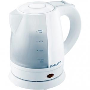 Virdulys Electric kettle Scarlett SC-EK18P40   1L white Электрические чайники