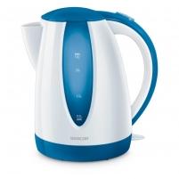 Kettle Sencor SWK 1812BL, Baltai-blue Electric kettles
