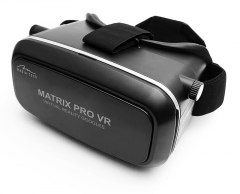 Virtualios realybės akiniai MATRIX PRO VP - Virtual reality goggles, Supports most smartphones 3,5-6 inch 3D, VR glasses