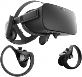 Virtualios realybės komplektas OCULUS Rift VR Virtual Reality + Touch VR Headset (Bundle) 3D, VR brilles