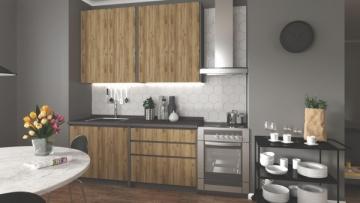 Virtuvės komplektas IDEA 180 Virtuves mēbeļu komplekti