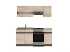 Virtuvės komplektas Junona 170 ąžuolas sonoma Virtuvės baldų komplektai
