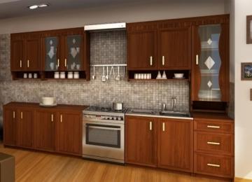 Virtuves komplekts MARGARET 3 - 260 cm Virtuves mēbeļu komplekti