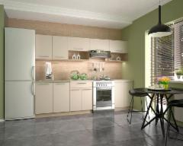 Virtuvės komplektas Viola 260 Virtuves mēbeļu komplekti