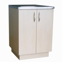 Virtuvinė spintelė, uždedamai 60cm plautuvei, balintas beržas (be plautuvės) Standing kitchen cabinets