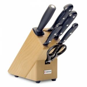 Virtuvinių peilių rinkinys Gourmet Knife block w/6pcs. Knife sets